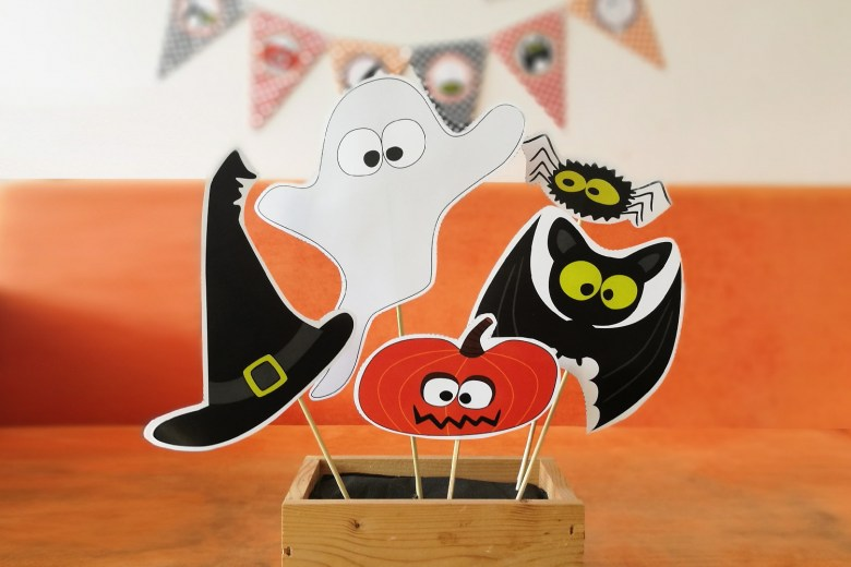 Halloween Decorations by Pixiebear