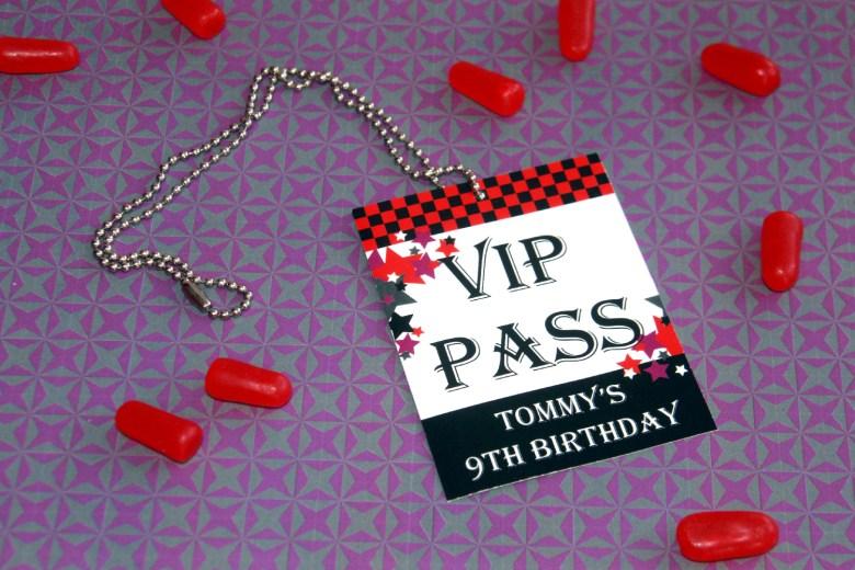 Rock Star VIP Pass by Pixiebear