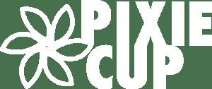 Pixie Cup White Logo