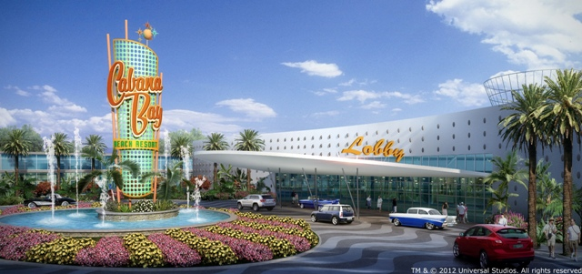 Cabana Bay Beach Resort Exterior - LR
