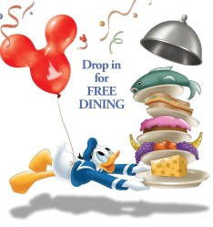 Drop in for FREE Dining