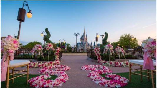 DisneyWeddingGarden