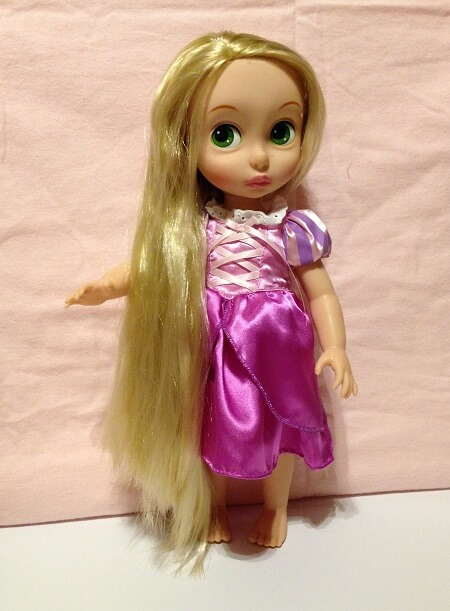 Review of Disney Animator Rapunzel doll.