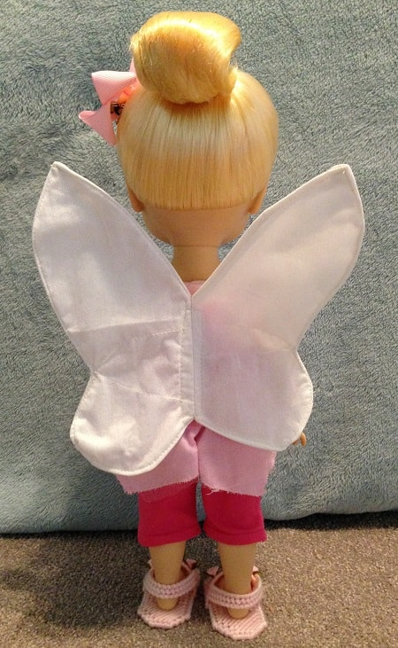 Fairy wings for dolls.