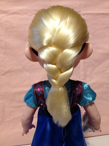 Disney Animator Doll Elsa Braid.
