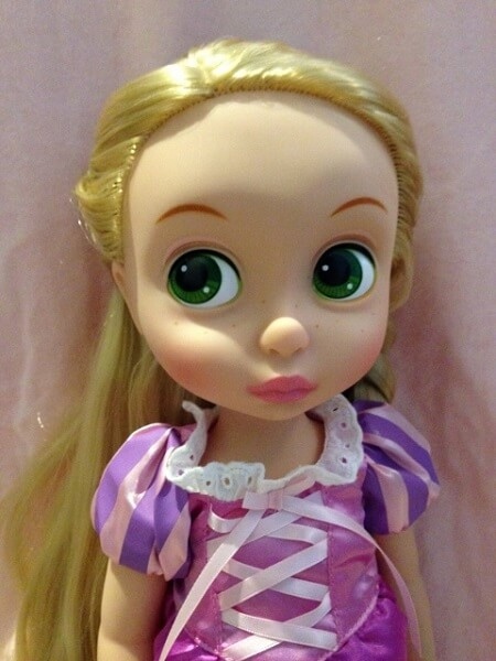Disney Animator Rapunzel doll.