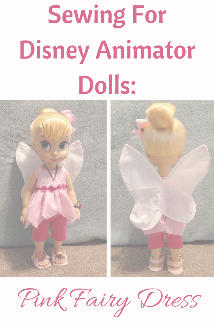 Sewing For Disney Animator Dolls.