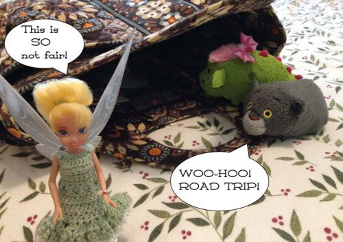 Tsum Tsums: Road Trip!