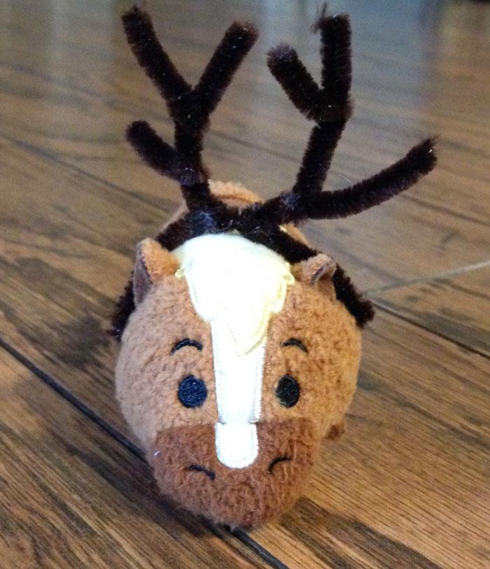 Philippe Tsum Tsum Wearing Reindeer Antlers