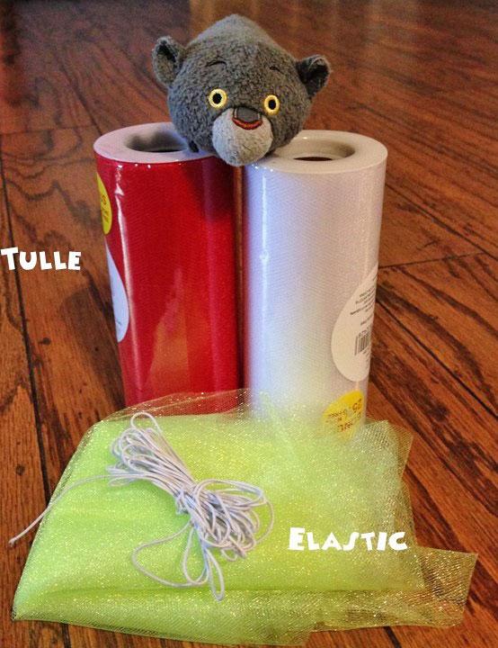 Christmas Craft For Tsum Tsum: Holiday Tulle Collar