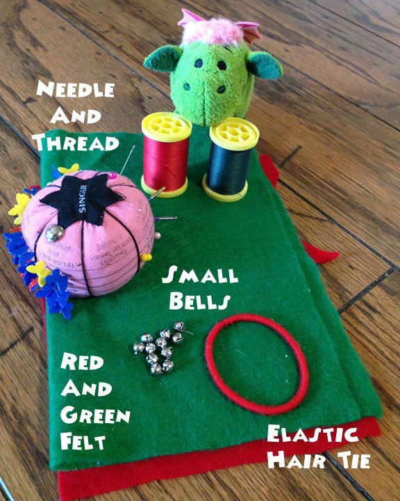 Christmas Craft For Tsum Tsums: Elf Collar
