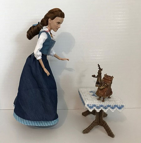 Film Collection Belle Doll And Hasbro Figurines