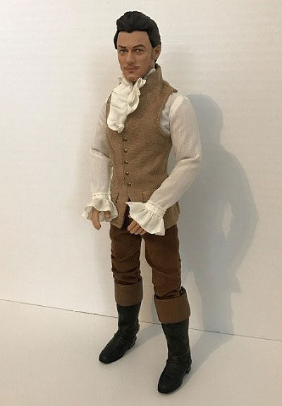 Gaston Doll With Jacket Removed