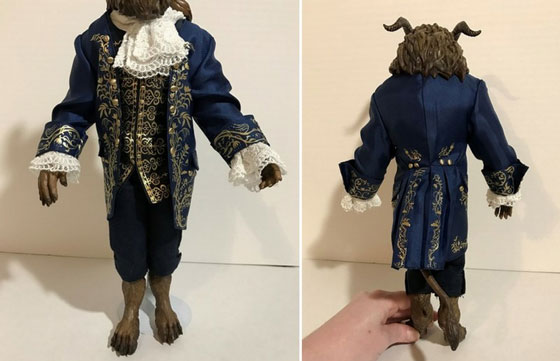 The Beast's Ballroom Outfit