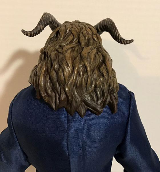 Image Showing The Back Of Film Collection Beast Doll