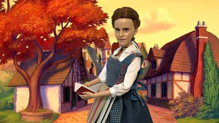 Image Of Village Belle Doll With Book