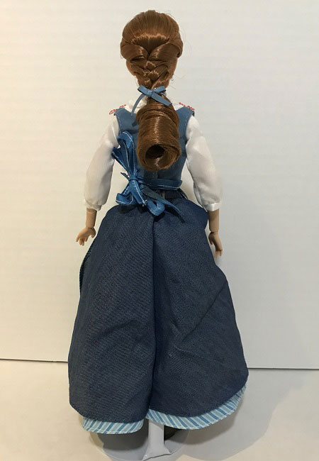 The Back Of Belle's Peasant Outfit