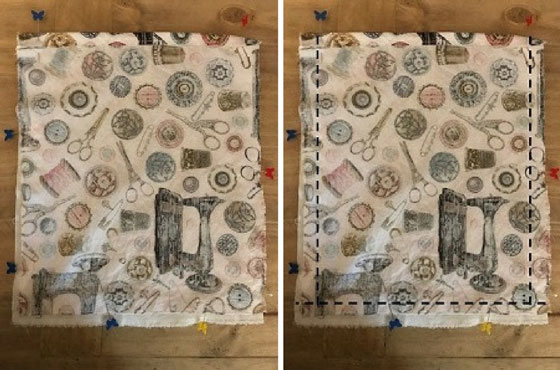 Sew The Rectangles Of Fabric Together On Three Sides