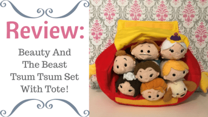 Review: Beauty And The Beast Tsum Tsum Set With Tote