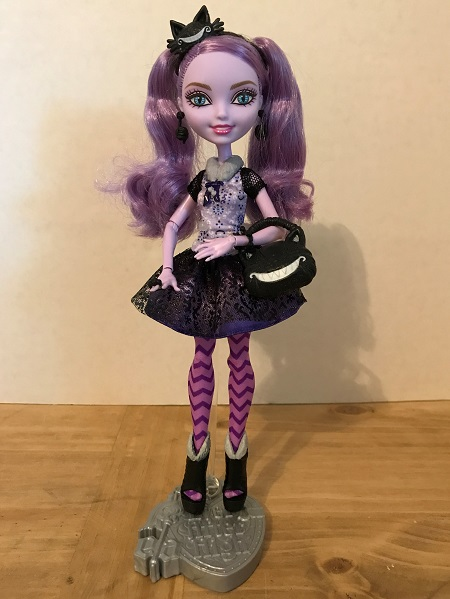 Ever After High Doll Review: Kitty Cheshire