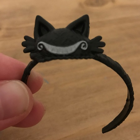Black Cheshire Cat Doll Headband