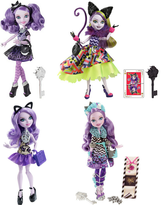 Kitty Cheshire Dolls: Original, Wonderland, Book Party, and Spring Unsprung