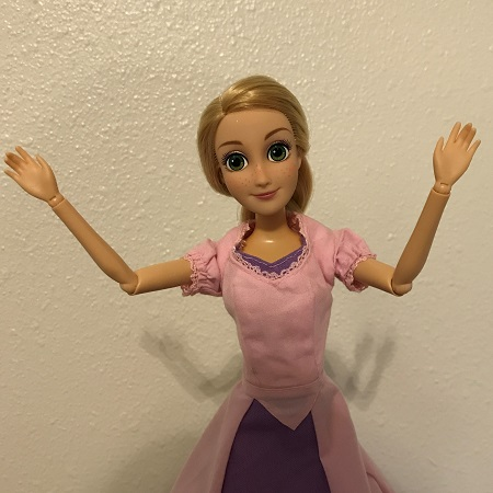 Image of Rapunzel Doll (Excited)