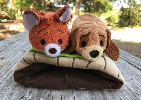 The Fox And The Hound Mini Tsum Tsums
