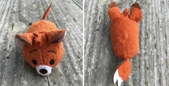 Mini Fox And The Hound Tsum Tsum: Todd