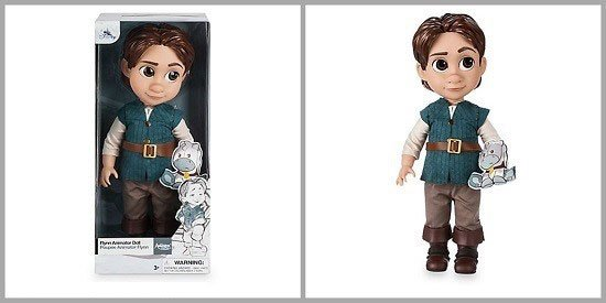 Disney Animator Doll: Flynn Ryder.