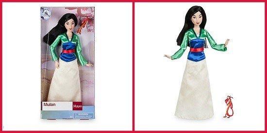 Disney Store Classic Mulan Doll (2017).