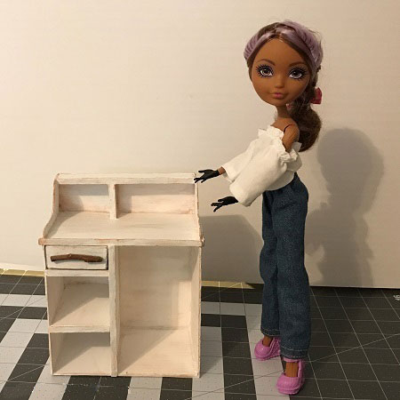 DIY Desk For A Doll
