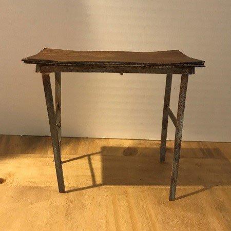 Paperboard doll desk.
