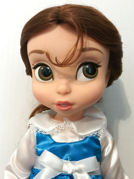 Disney Animators Belle doll close view.