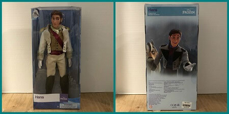 Review Of Disney Store Classic Hans Doll