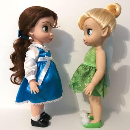Disney Animator Dolls: Belle And Tinker Bell