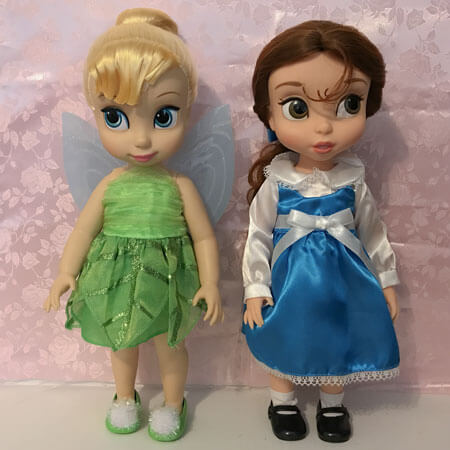 Disney Animator Dolls: Tinker Bell and Belle