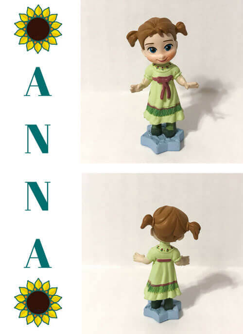 Disney Animators Littles: Anna.