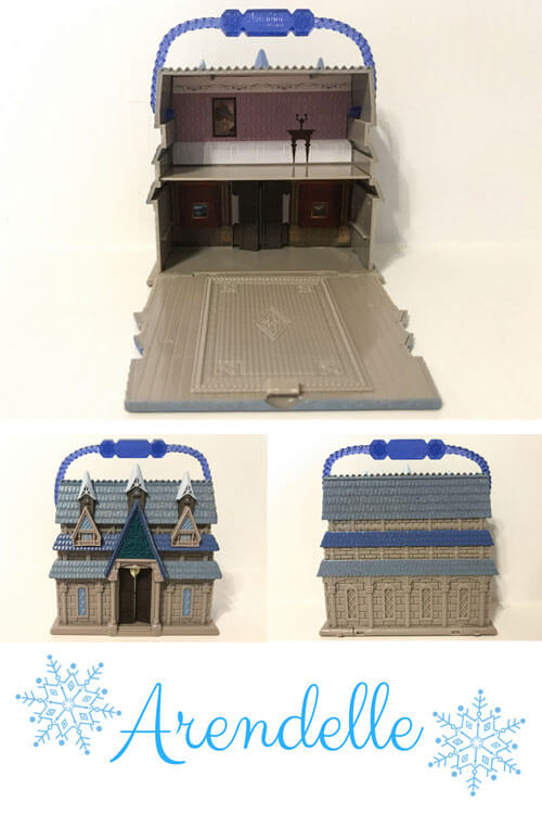 Disney Animators Mini Figure Playset: Arendelle Castle.