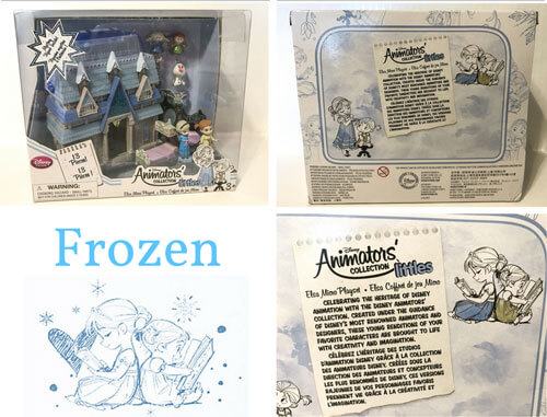 Disney Animators Mini Figure Frozen Playset.