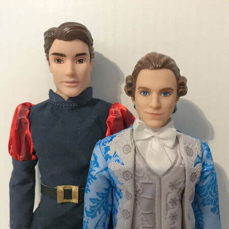 Disney Prince Phillip and Hasbro Beauty And The Beast Prince