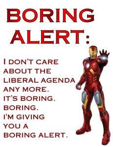 Boring Alert