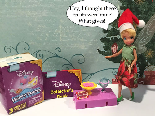 Tinkerbell Doll With Quote: Hey, I Thought These Treats Were Mine!