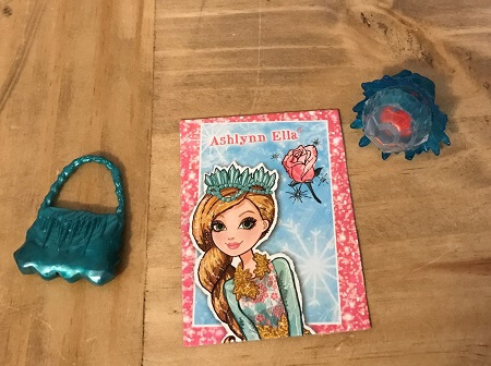 Doll Purse, Cardboard Booklet, And Ring