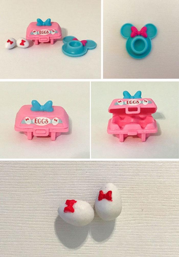 Disney Shopkins Blind Box Minnie Mouse Items: Eggs.