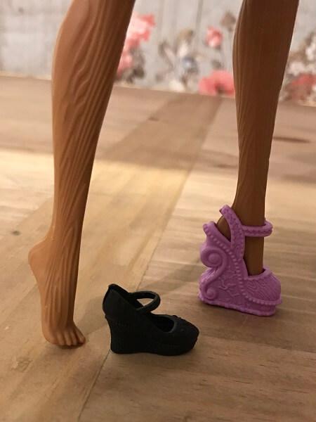 Cedar Cannot Wear Barbie Sized Shoes