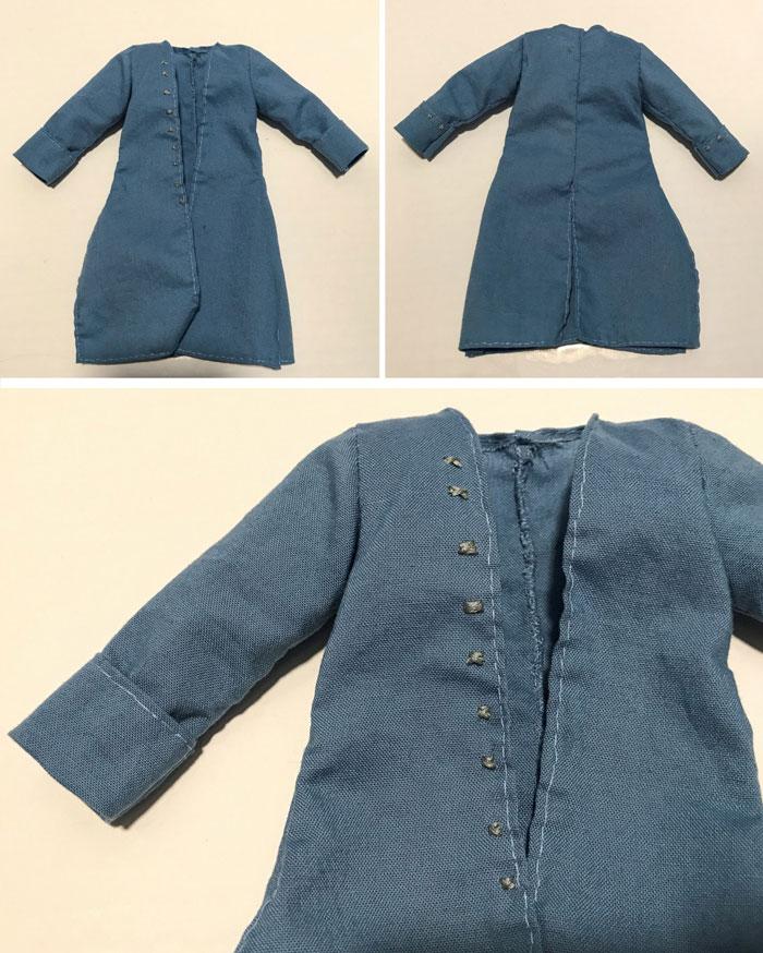 Blue Doll Coat