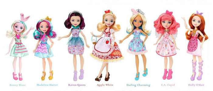 New Ever After High Dolls 2018: Sweet Treats Collection