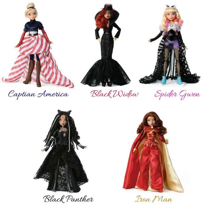 Marvel Fashion Dolls
