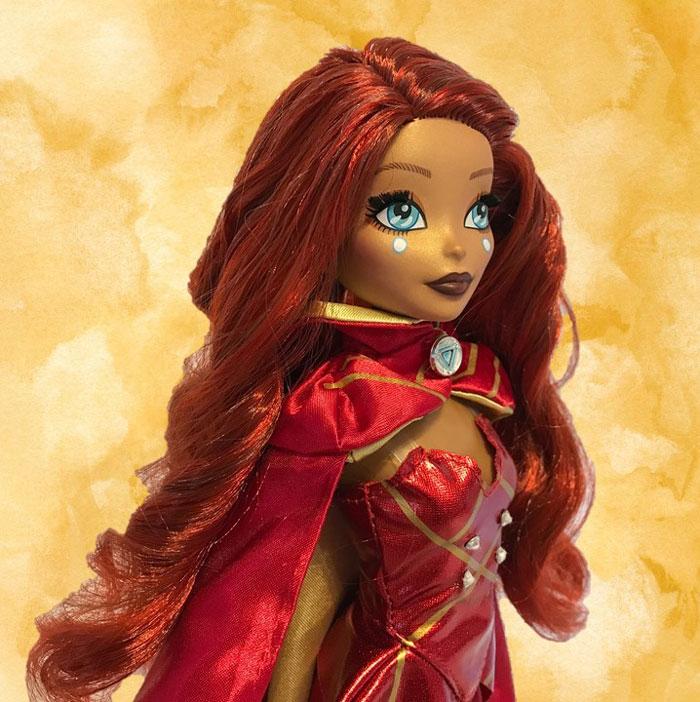 Madame Alexander Fan Girl Doll--Iron Man